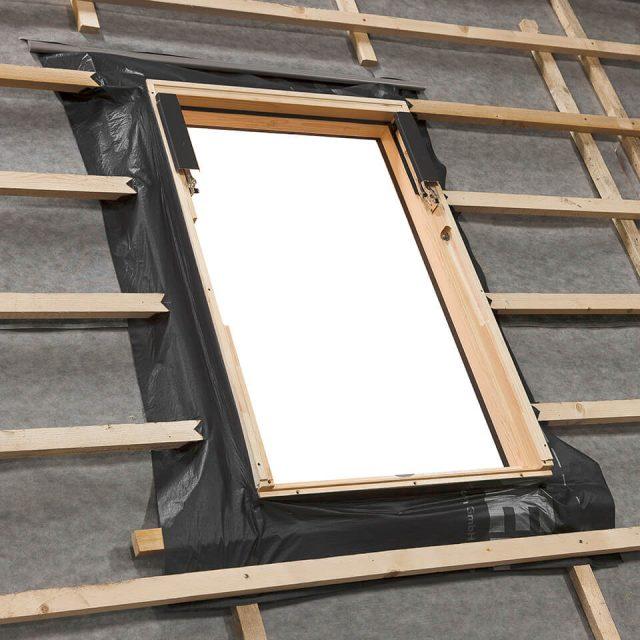 RUC roofing underfeilt foil collar